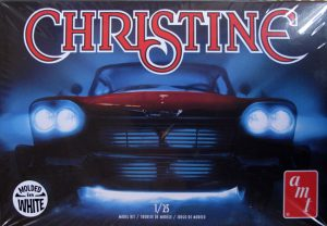 AMT 1:25 Christine -- 1958 Plymouth Belvedere-Red AMT801M