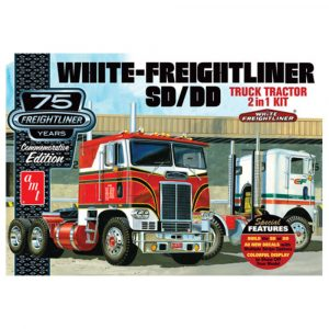 AMT 1:25 White Freightliner 2-in-1 SC/DD Cabover Tractor (75th Anniversary)