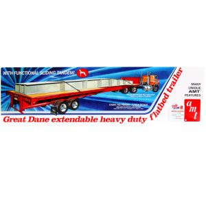 AMT Great Dane Extendable Flat Bed Trailer AMT1111