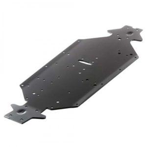 Arrma Aluminium Chassis Swb (Black) (1Pc)