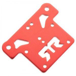 Arrma Aluminium Top Plate (Red) (1Pc)