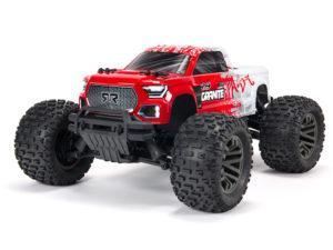 Arrma Granite 4X4 3S BLX Firma SLT3 Monster Truck RTR Red ARA4302V3T2