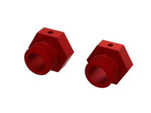 Arrma Kraton 1/5 Aluminum Wheel Hex 24mm (Red) (2) ARA310928