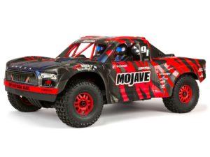 Arrma Mojave 6S BLX 1/7 Desert Truck Blk/Red V2