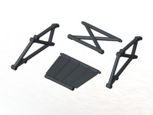Arrma Mojave Rear Bumper Frame Set ARA320548