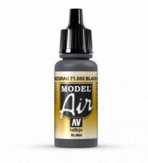 AV Vallejo Model Air - Black Grey (RLM66) VAL055