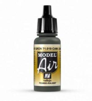 AV Vallejo Model Air - Camouflage Dark Green