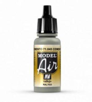 AV Vallejo Model Air - Cement Grey VAL045