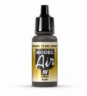 AV Vallejo Model Air - Dark Brown (RLM61) VAL042