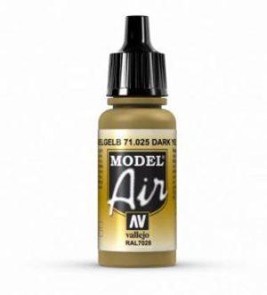 AV Vallejo Model Air - Dark Yellow