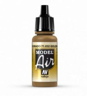 AV Vallejo Model Air - Golden Brown