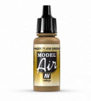 AV Vallejo Model Air - Green Brown