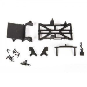 Axial Chassis Parts, Long Wheel Base 133.7mm: SCX24 AXI201002