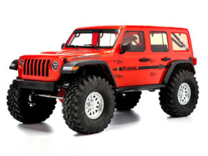 Axial SCX10 III Jeep JL Wrangler 4WD RTR ORANGE AXI03003T1
