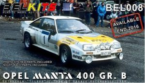 Belkits 1/24 Opel Manta 400 GR. B # 008