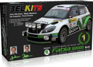 Belkits 1/24 SKODA FABIA S2000 EVO # 004