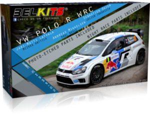 Belkits 1/24 Volkswagen Polo R WRC Red Bull # 005