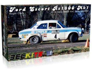 Belkits Ford Escort RS1600 MK.I RALLY 1972 ROGER CLARKE # 007
