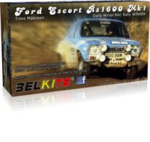 Belkits Ford Escort RS1600 MK.I RALLY 1973 Timo Mäkinen # 006