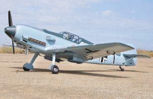 Black Horse Messerschmitt Bf-109E3 50cc ARTF