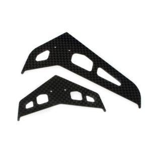 Blade 300X Carbon Fibre Stabiliser & Fin Set - BLH4530C
