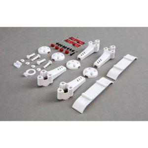 Blade Plastic Kit White: Vortex Pro BLH9212