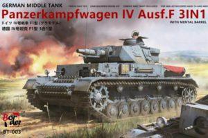 Border Models 1/35 Pz.Kpfw.IV Ausf.F1 # BT-003