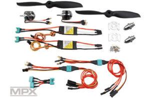 Multiplex TwinStar BL Brushless Power Set