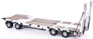 Carson Goldhofer TU4 Flatbed Trailer C907400