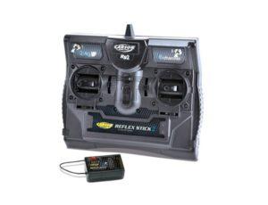 CARSON REFLEX II STICK 6 CHANNEL 2.4GHZ RADIO SET