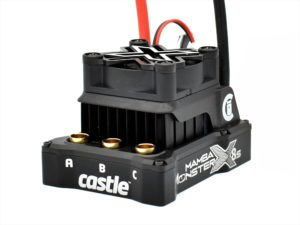 Castle MAMBA MONSTER X 8S, 33.6V ESC, 8A PEAK BEC