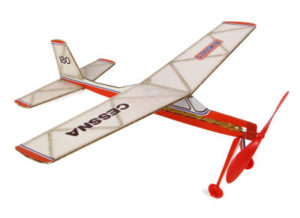 Cessna 180 (Rubber Powered) DPR