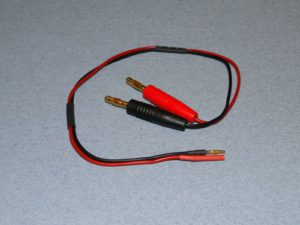 Charge lead : 4mm~2mm (F+)(M-)