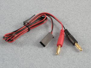 Charge Lead : 4mm Futaba Rx