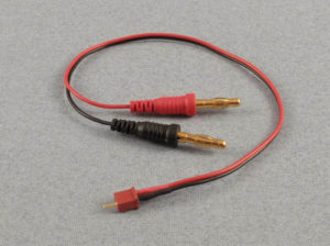 Charge Lead : 4mm Mini Deans
