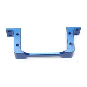 CNC Alloy Servo Mount (Blue)