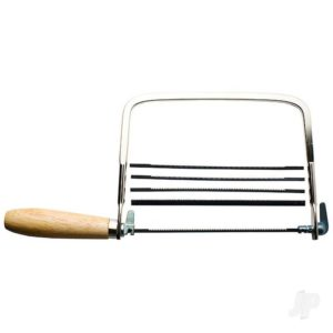 Coping Saw with 4 Extra Blades, 7.0x4.5in