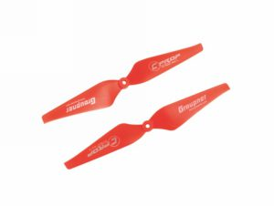 Graupner Copter PROP 10 x 4 5mm Red (1L&1R)