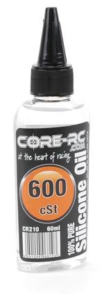Core RC 600 cSt Silicone Oil