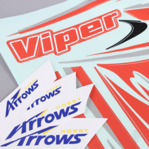 Decal Sheet (for Viper)