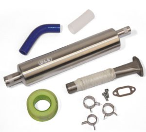 DLE 20RA Header and Canister Set