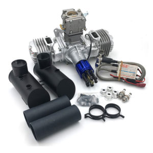 DLE-130 Flat Twin Petrol Engine - DLE130