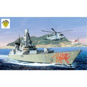 DRAGON D7109 (THK) 1/700 Type 45 Royal Navy Daring Class Destroyer