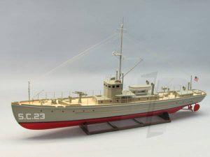 Dumas SC-1 Class Sub-Chaser Kit(1259)