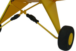 Dynam J3 Piper Cub Landing Gear (Front)