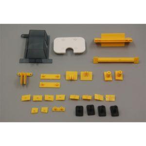 Dynam J3 Piper Cub Plastic Parts