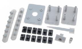 Dynam Spitfire Plastic Set