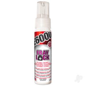 E6000 Fray Lock Clear 59.1ml (Carded)