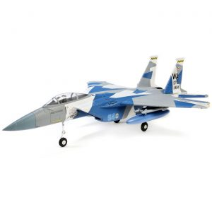 E-Flite F-15 Eagle 64mm EDF BNF with AS3X and SAFE Select (EFL9750) F15