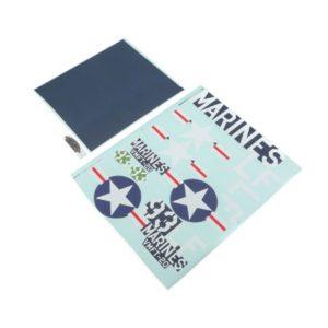 E-Flite F4-U4 Corsair Decal Sheet